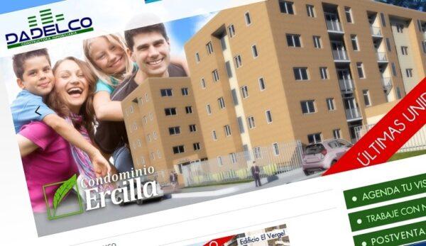 dadelco.cl / Desarrollo sitio web y administración
