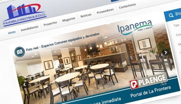 inmobiliaiotemuco.cl / Desarrollo sitio web y administración