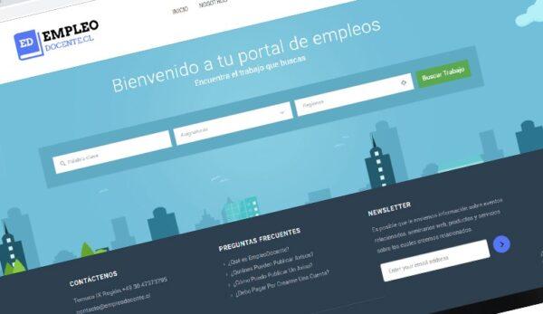 empleodocente.cl/ Desarrollo sitio web